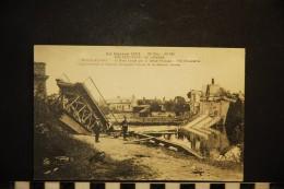 CP, MILITARIA GUERRES 1914-18 CHOISY AU BAC Le Pont Coupé Par Le Génie Français Vue D'ensemble Série 23 N° 185 Vierge - Guerre 1914-18