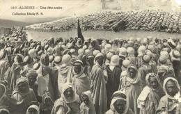 ALGERIE  Une fete arabe   Recto verso