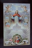 "1 CP Du Vatican, ""Anno Santo 1950"" Pax Vobiscum, Bords Dentelés - Vatican"