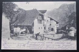 GRIES BEI BOZEN : MAURACHER HOF - ANNULLI GRIES BEI BOZEN + ROVEREDO A BARRE - VIAGGIATA NEL 1903 - Bolzano (Bozen)