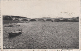 CPA - AK Luxembourg Luxemburg Remich Reimech Mosel Moselle Pont Brücke Bei Nennig Palzem Schengen Perl Wellesteen - Remich
