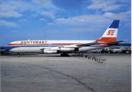 Boeing B.720 Aerei Aircraft Southeast Airlines B 720 Avion Aviation B720 Aiplane B-720 Miami Airport - 1946-....: Moderne