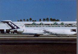 Boeing B727  Air KHA Kitty Hawk Aircargo Airlines B.727 Cartes Avion B 727 Avion B-727 Miami Airport - 1946-....: Moderne