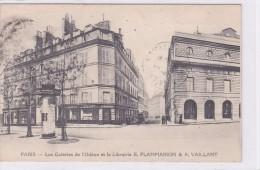 Paris Les Galeries De L'Odéon Et La Librairie E.Flammarion & A.Vaillant - Autres