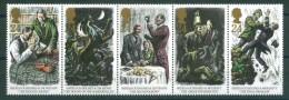 Great Britain 1993 - Sherlock Holmes, Set Of 5 Stamps, MNH** - 1952-.... (Elizabeth II)
