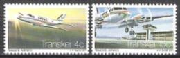 Transkei Südafrika RSA 1977 Transport Verkehr Luftfahrt Flugzeuge Aeroplanes Flughafen Airports Airways, Mi. 22-3 ** - Transkei