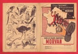 Protège Cahier - CHAUSSURES ... MORVAN ... Signé L. LEVOIR ... - Protège-cahiers