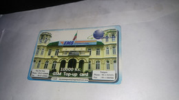 Myanmar- Birmanie Burma-ems International-10.000ks-gsm Top-up Card-used Card+1prepiad Card Free - Myanmar