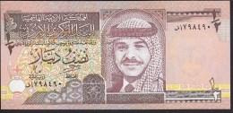 Jordan 1/2 Dinar 1997 P28b UNC - Jordanie