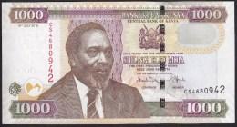 Kenya 1000 Shillings 2010 P51e UNC - Kenya