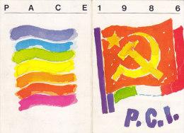 3-4242- Tessera Partito Comunista 1986 Con Bollino Da Lire 50.000 - Organizzazioni