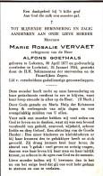 Lochristie,1954, Marie Vervaet,Goethals,Lokeren - Religion & Esotérisme