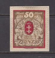 1922   MICHEL  Nº  100 X B - Dantzig