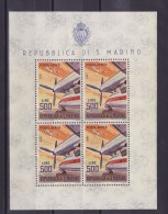 SAINT-MARIN  BLOC 7  MNH**  COTE 4050 EUROS - Blocs-feuillets