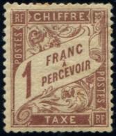 Lot N°4235 France Taxe N°25 Neuf * Qualité TB - 1859-1955 Mint/hinged