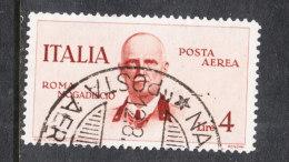 Italia   -   1934.  Volo Roma Mogadiscio 4 £. - 1861-78 Vittorio Emanuele II