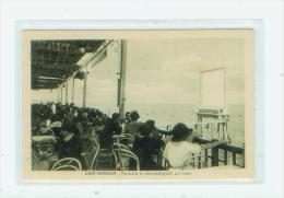 Lido-Venezia. Terrazza E Cinematografo Sul Mare - Venezia