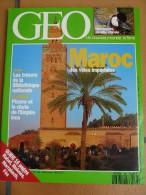 Magazine Géo 166 Maroc  Tanzanie Oiseau Pizarro Inca  Paris Rabat  Meknes  Marrakech  Fes - Géographie