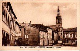 BOULAY Place De Vendée Et L' Eglise - Boulay Moselle