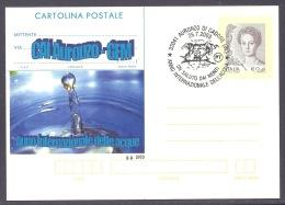 Italia / Italy 2003 - CAI Auronzo, Anno Internazionale Delle Acque, Un Saluto Dai Monti, Cadore, Cartolina Postale - 6. 1946-.. Repubblica