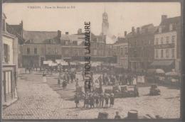18 - VIERZON--Place Du Marché Au Blé--animé - Vierzon
