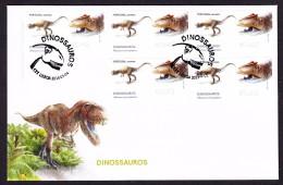 PORTUGAL 2015. ATM FDC . DINOSAURS Allosaurus - ATM/Frama Labels