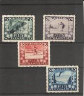 Osterreich _ Congres De La F.I.S- Série_1933 - Ohne Zuordnung