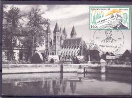 België -  150e Anniversaire Le Courrier De L'Escaut - Tournai 15/9/1979 (RM890) - Célébrités