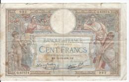 100 FRANCS  Olivier Merson 1938 - 1871-1952 Anciens Francs Circulés Au XXème