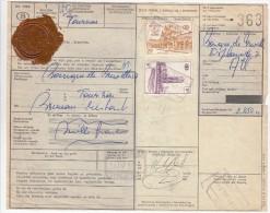 BELGIQUE 1968 BULLETIN D'EXPÉDITION   COLIS POSTAUX BANQUE DE BRUXELLES /1131 - Belgium