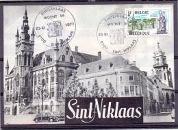 België - Sinterklaas Woont In Sint Niklaas - 23/10/1977  (RM9242) - Other