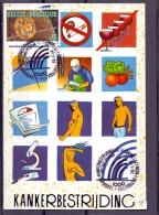 België - Kankerbestrijding - 1e Dag - Brussel 20/9/93 (RM9415) - Disease