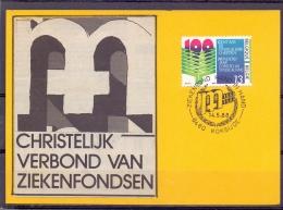 België - Ziekenbond Hand In Hand - Koksijde 14/5/88  (RM9417) - Santé