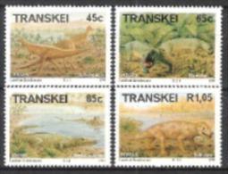Transkei Südafrika RSA 1993 Prähistorische Tiere Animals Fauna Dinosaurier Saurier Fabrosaurus Dilctodon, Mi. 303-6 ** - Transkei