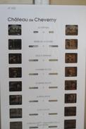 LESTRADE / MSM :  41625  CHÂTEAU DE CHEVERNY - Stereoscoopen
