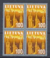 LITAUEN - Mi.Nr. 476 - Postfrisch - 4er-Block - Litauen