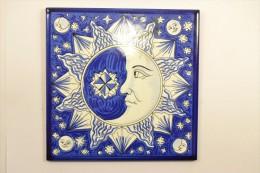Carrelage Décoratif Décor Lune, Pleine Lune, Demie-lune - Ceramics & Pottery