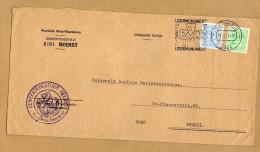 Enveloppe Brief Cover Gemeentebestuur Beerst - België
