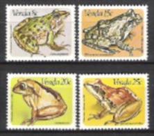 Venda Südafrika RSA 1982 Tiere Animals Fauna Frösche Frosch Frogs Amphibien Baumsteiger Nilfrosch, Mi. 66-9 ** - Venda