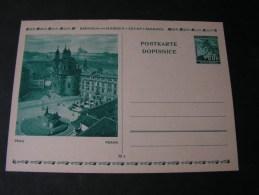 == Böhmen Mähren CDV6   6  Prag   *  Pofis Ca. 60 Kronen - Böhmen Und Mähren
