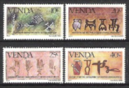 Venda Südafrika RSA 1984 Kultur Schrift Bildung Lesen Keilschrift China Kreta Hieroglyphen Ägypten, Mi. 86-9 ** - Venda