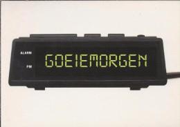Boomerang Kaart - Goeiemorgen. Your Wake Up Call. Sanne Angenent. Wekker. Radiowekker. - Humor