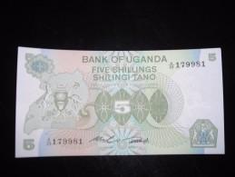 Uganda,unc,5,10,20,50,100,500,1000 - Oeganda