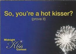 Boomerang Kaart - So, You're A Hot Kisser? (prove It) Midnoght Kiss Contest. Jordan*Go! - Humor