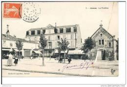 16 JARNAC LE THEATRE AVEC HOTEL (PLI) - Jarnac