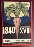 ALMANACCO AZIENDA AGRICOLA ITALIANA - 1940 - XVIII - BEN CONSERVATO - Libri, Riviste, Fumetti