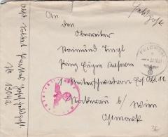 Feldpost WW2: From Northern Finland To An Ersatz Abteilung 11 In Wien From 1. Schwadron Aufklarungs-Abteilung 112 Der 6. - Militaria