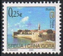 Montenegro SG M170 2003 Tourism 25c Good/fine Used - Montenegro