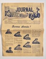 Journal TOURING-SECOURS Bonne Année 1950 - N° 1/1950 (2e Année) / General Motors - Automobile & Transport