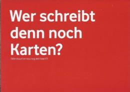 Boomerang Kaart - Vodafone. Wer Schreibt Denn Noch Karten? - Humor